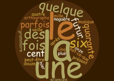 L'orthographe des mots fréquents